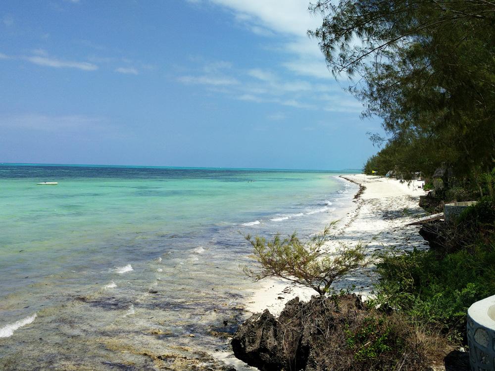 Indischer Ozean und Strand, Sansibar Achipel, Mafia Island, Pemba Island